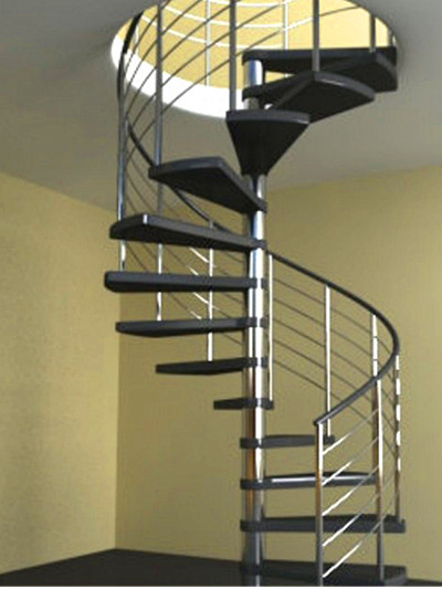 实木踏板楼梯 YD-GMX33