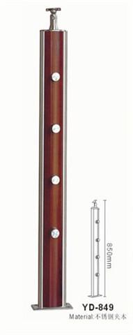 御迪 不锈钢夹木立柱 YD-849