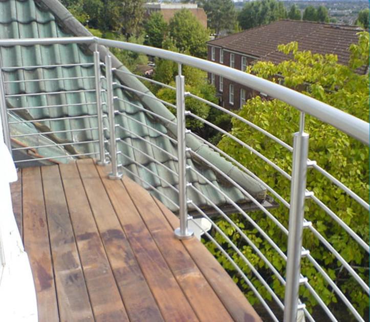 室外阳台钢丝护栏,YD-YTHL403,工程钢丝护栏厂家