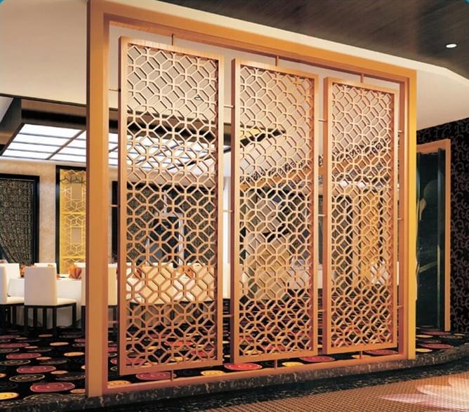 酒店屏风,现代化屏风,YD-PF904