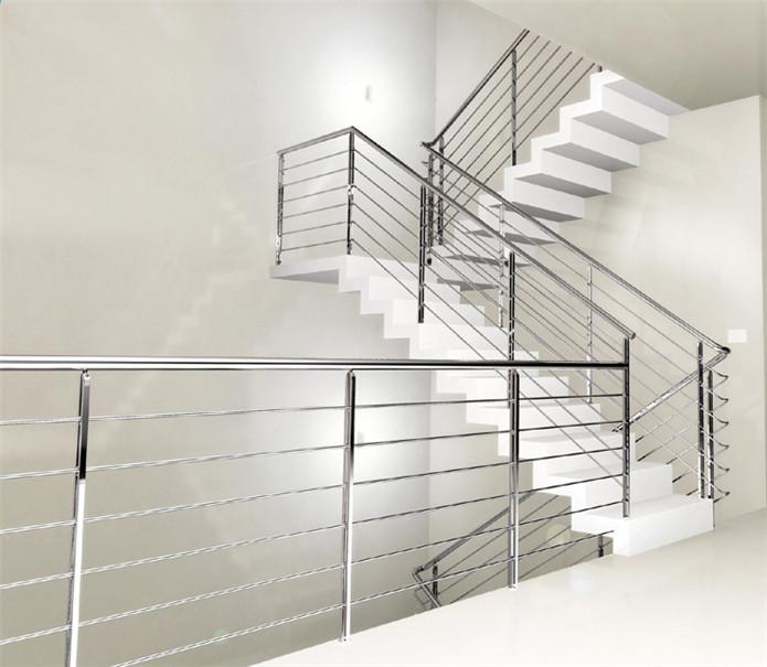 御迪不锈钢楼梯护栏