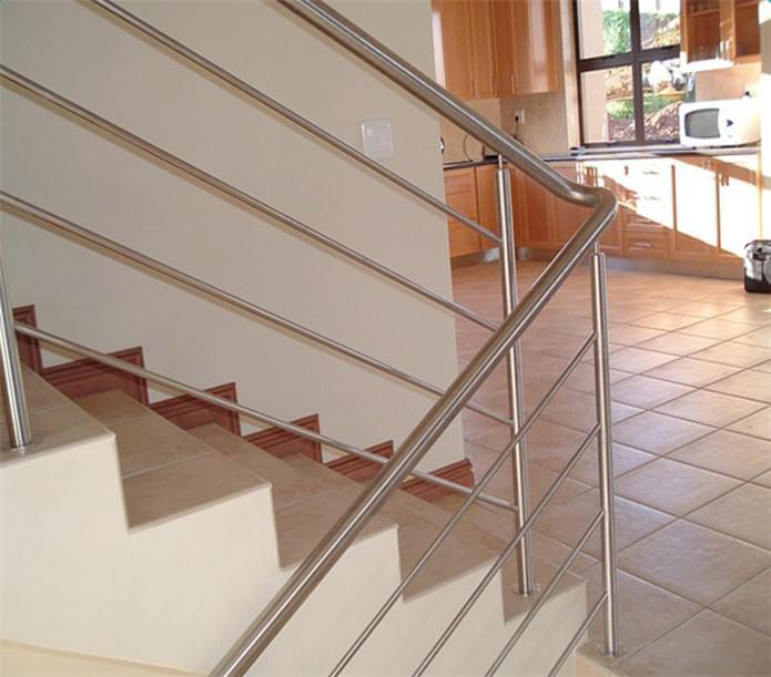室内不锈钢楼梯护栏出口,YD-LTH003