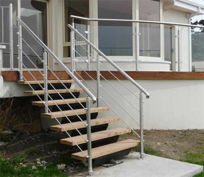 室外不锈钢楼梯扶手,YD-LTH005