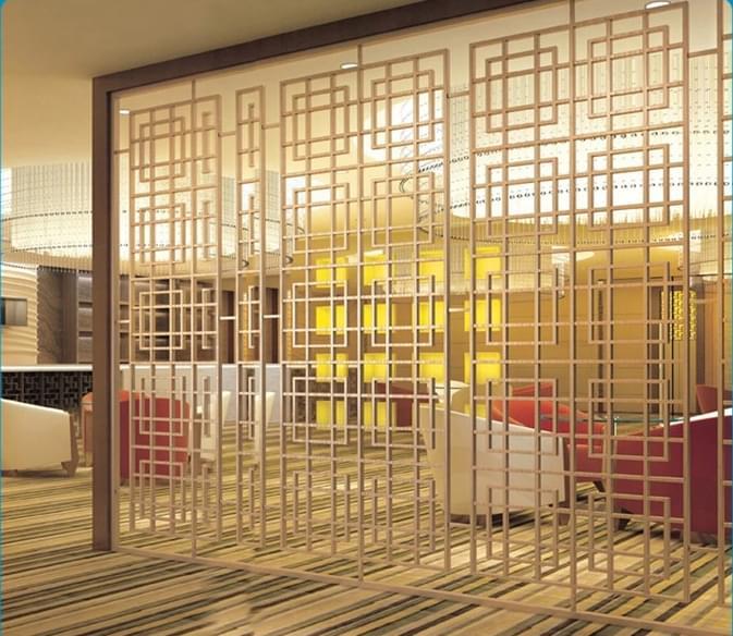 咖啡厅装饰屏风,YD-PF905
