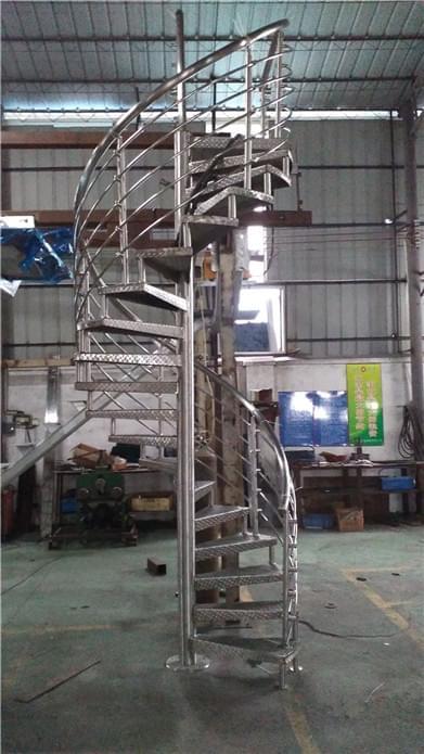 不锈钢旋转楼梯  不锈钢楼梯 旋转楼梯
