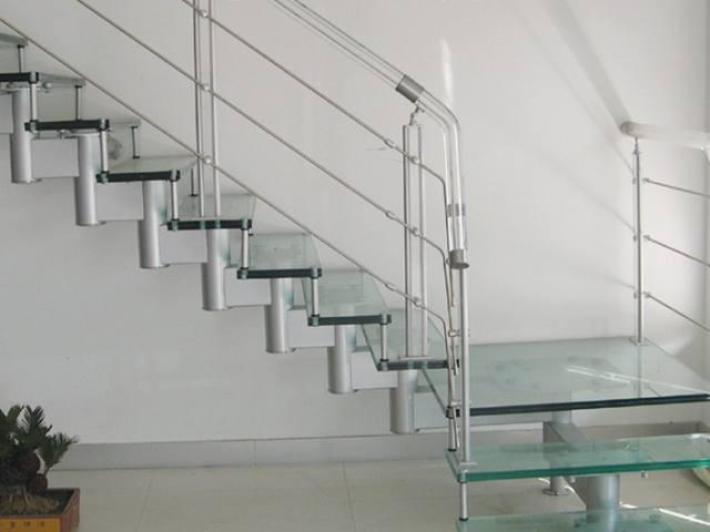 炮筒直楼梯,水晶立柱,YD-BZ306