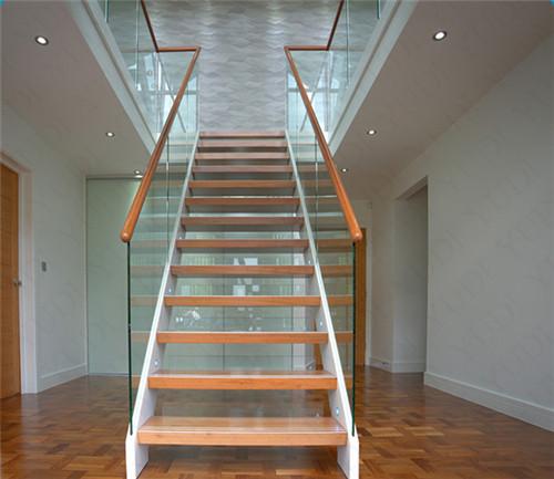 双钢板钢木直楼梯,YD-GMZ508