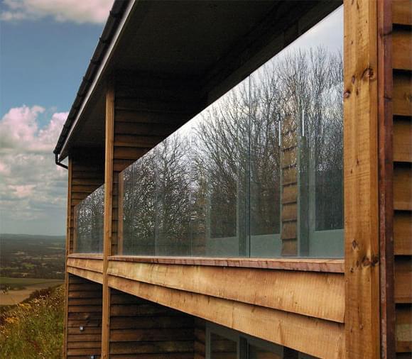 室外无框玻璃护栏,YD-YTHL409
