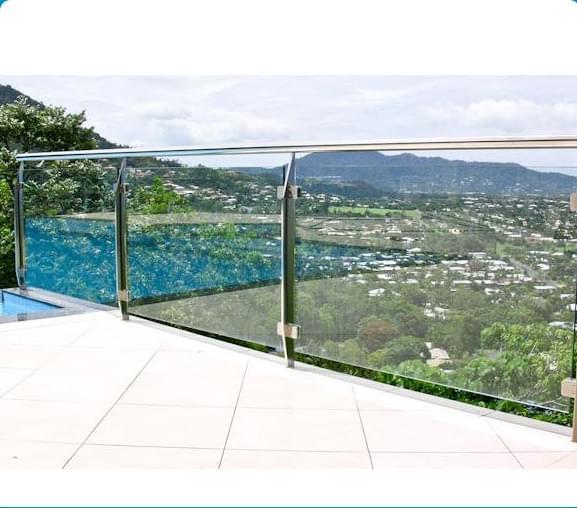 室外不锈钢玻璃护栏,御迪定制,YD-YTHL412