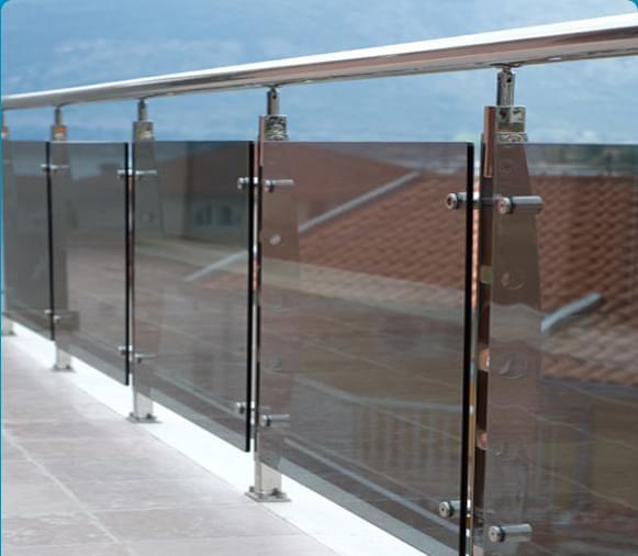 不锈钢立柱玻璃扶手,YD-YTHL413