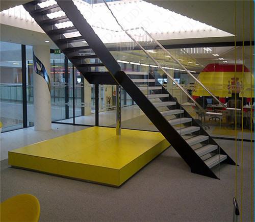 双钢板钢木楼梯 YD-GMZ509
